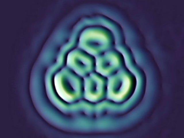 Crean una molécula driehoekig perfecta que nadie había podido sintetizar en 70 jaar geleden