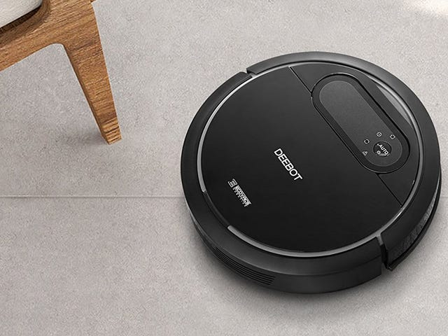 Come Home to Clean Floors Every Day With This $135 Robotic Vacuum