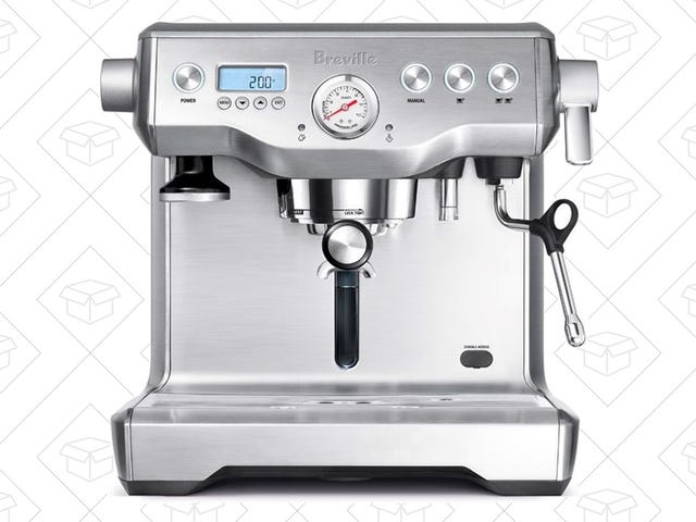 Indulge In This Breville Espresso Machine For $200 Less Than Usual