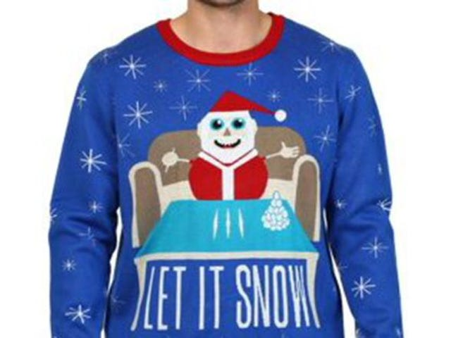 Let It Blow, Let It Blow, Let It Blow: Dengan Permintaan Maaf, Walmart Menarik Sweater Menampilkan Santa Melakukan ... Kokain?