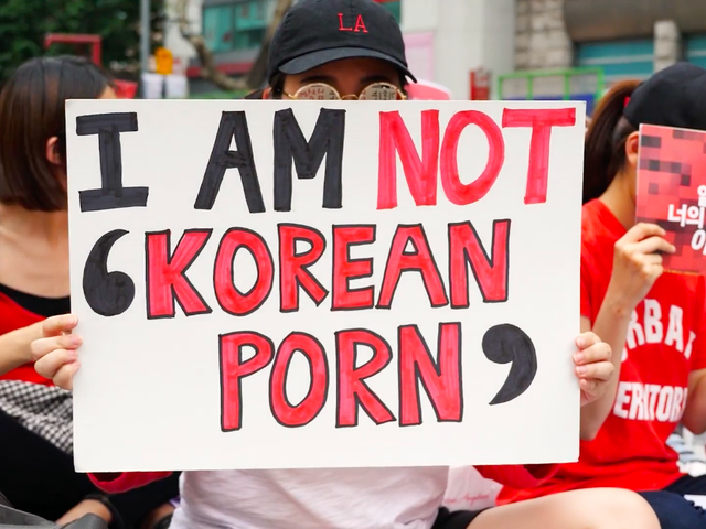 Thousands of Women Take to the Streets as South Korea Confronts Spycam Porn