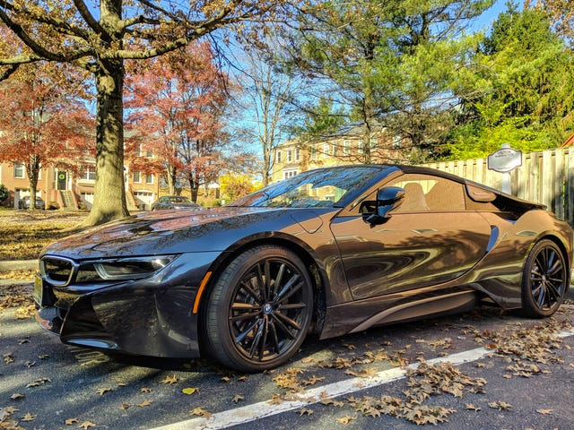 Remember my neighbor with the BMW i8 Roadster? Pretty sure he works for BMW.