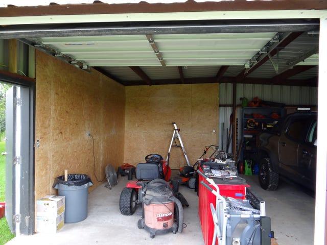 Garage / Shop In The Making.