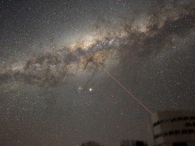 Les scientifiques mesurent la plus grande partie de la voie lactée