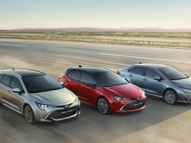 Sembra che la Toyota stia mettendo più impegno in Europa.