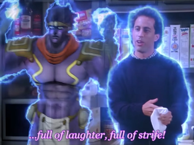 If Seinfeld Were JoJo's Bizarre Adventure
