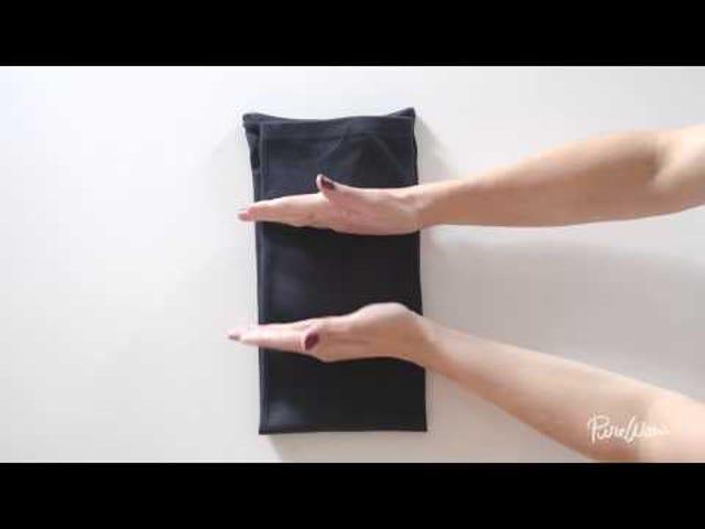 Κρατήστε τα πτυσσόμενα πουκάμισα σας ορατά με την τεχνική KonMari