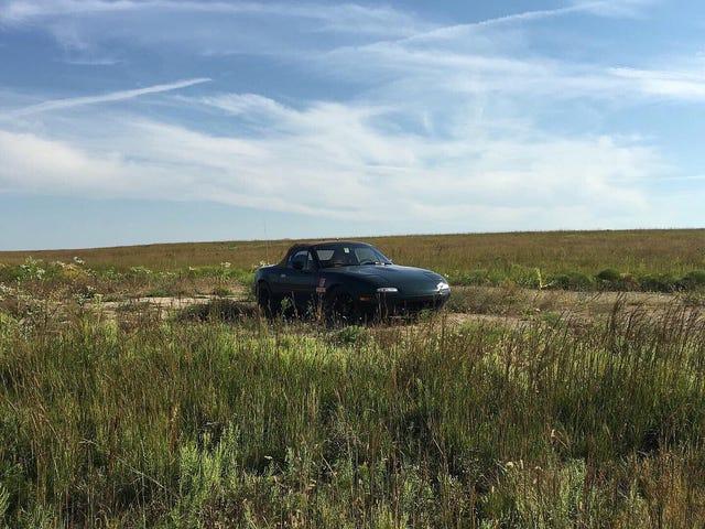 Μικρή Miata στο Prairie