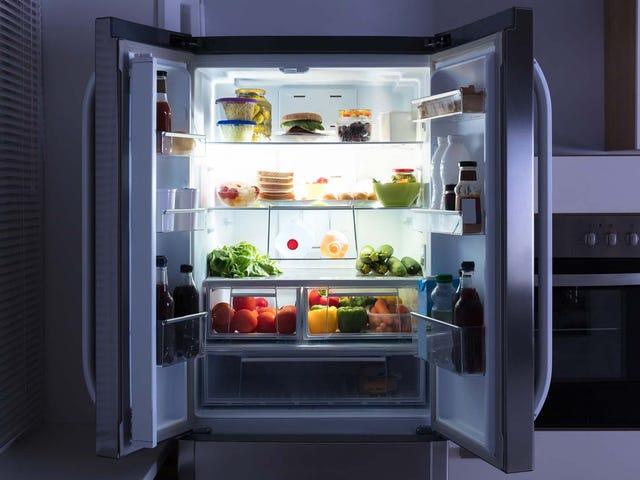 Vi spilder 60% af frugten i vores køleskabe
