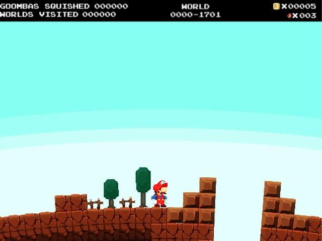 <i>No Mario's Sky</i> n'offre Infinite Goombas à Stomp