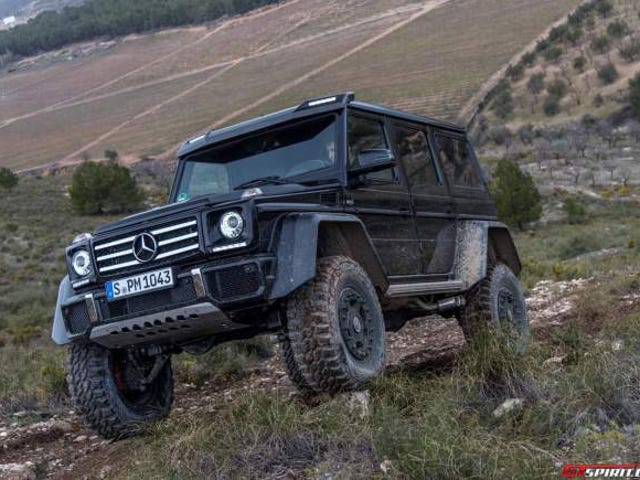 Exclusive Mercedes-Benz G500 4x4² Review Off-Road With GTspirit