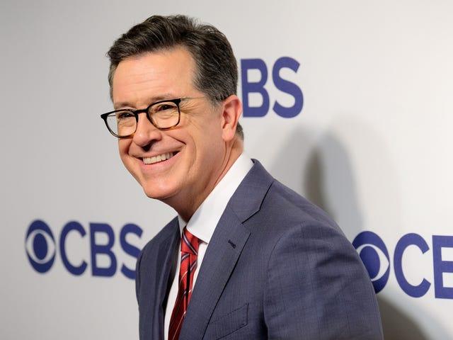 Si Stephen Colbert ay Nagpapaalaala kay Bill Clinton Siya ang Karamihan 'Mga Natatanging Halimbawa ng Isang Makapangyarihang Tao na Nakakalalay sa Sekswal' sa Trabaho