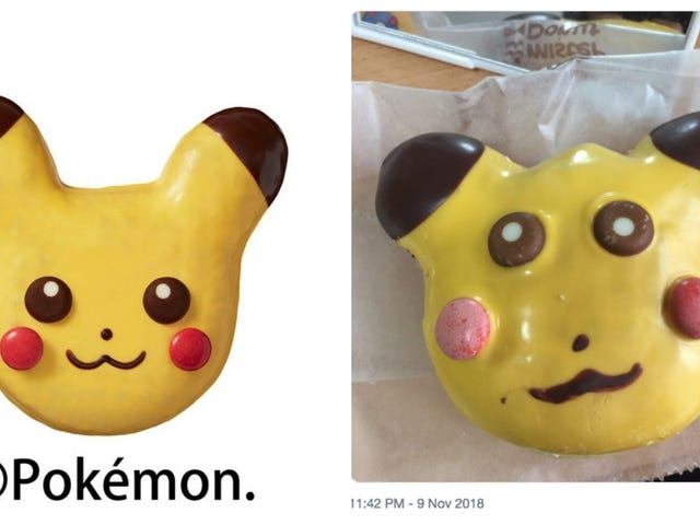 The Reality Of Official Pikachu Donuts