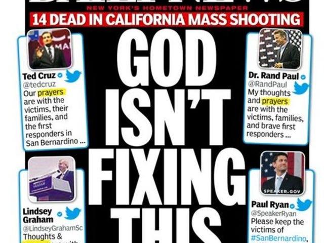 No te preocupes, Daily News, todavía voy a orar por ellos.