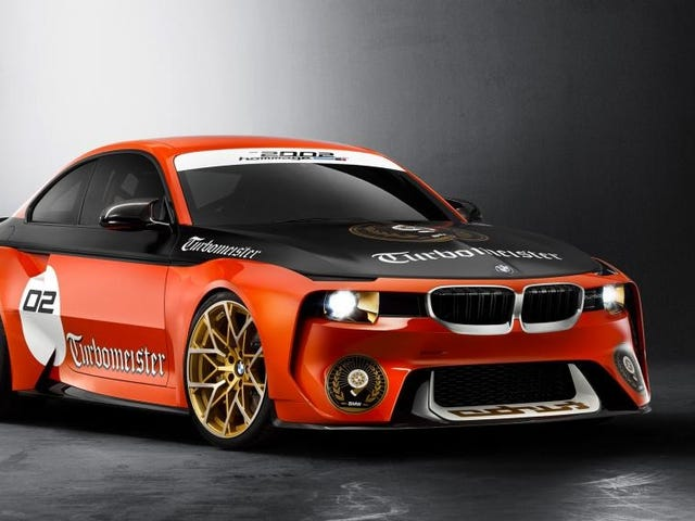 BMW Painted The 2002 Hommage And Named It The 'Turbomeister' And It's Kind Of Cool Now