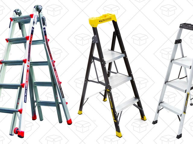 Get High With These Discounted Ladders From Home Depot