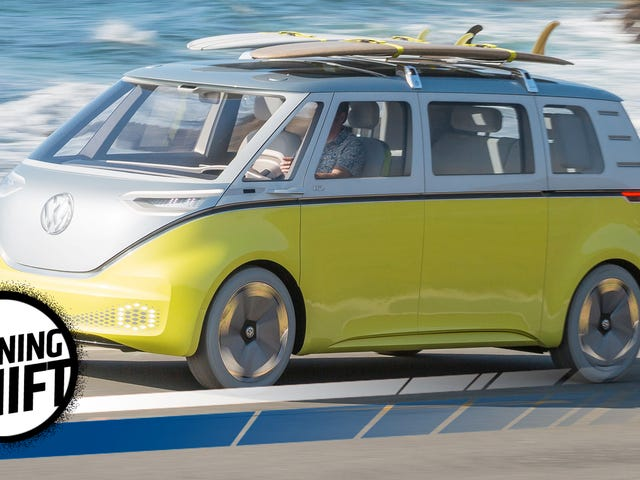 Volkswagen's Electric Microbus Is Retro But It Could Actually Be The Future Of Cars