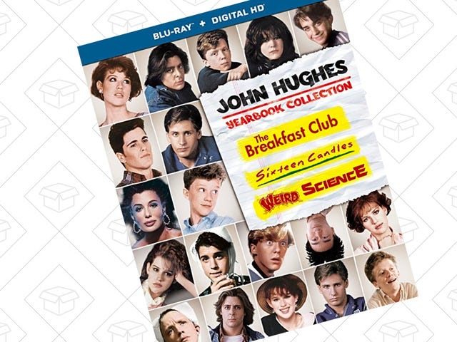 Grab Three Classic John Hughes' Blu-rays For Just $15