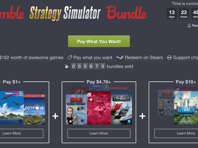 Score Cities Skylines, Plague Inc., and More From Humble's Strategy Simulator Bundle