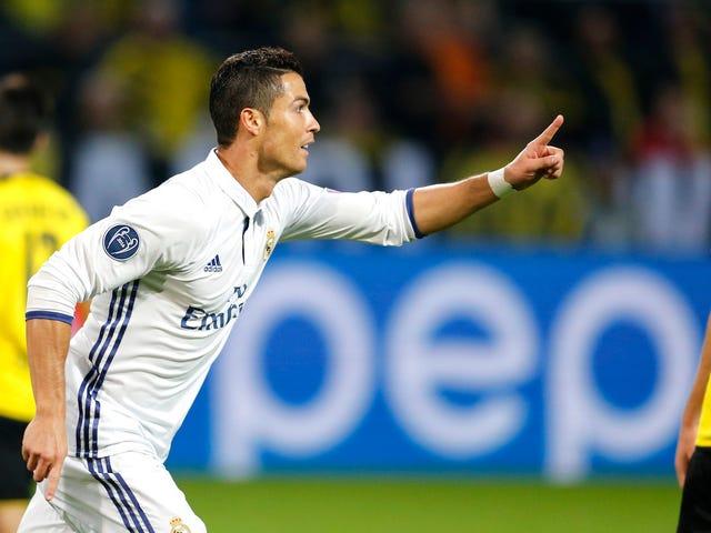 Brilliant Shithead Cristiano Ronaldo ha avuto un gioco brillante e stravagante ieri