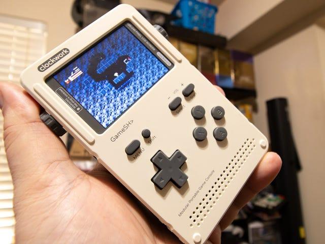 Το DIY Retro Gaming Handheld είναι ως διασκεδαστικό να χτίσει όπως είναι για να παίξει