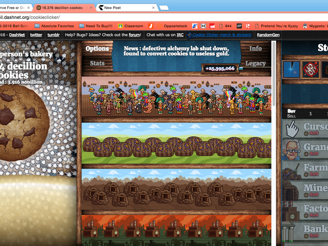 How To Beat Cookie Clicker