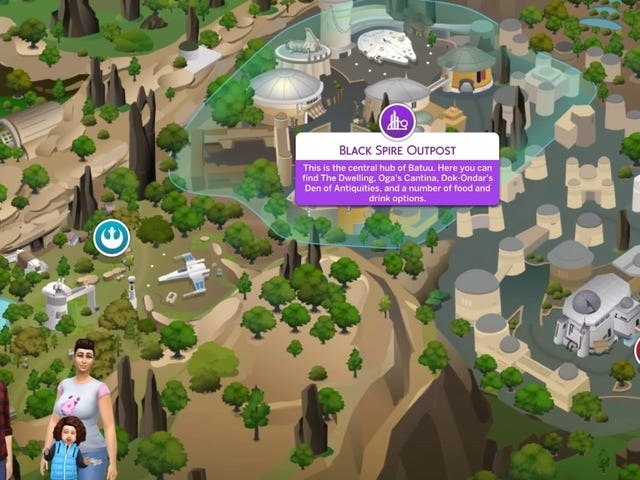 The Sims 4 Star Wars: Journey to Batuu Provided the 'Perfect' Family Vacation