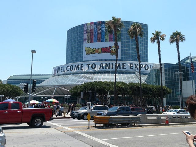 A Rock's Experience at Anime Expo 2017