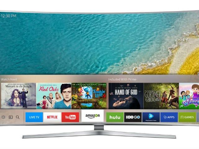 Nowe telewizyjne piloty Samsunga kontrolują całą konfigurację