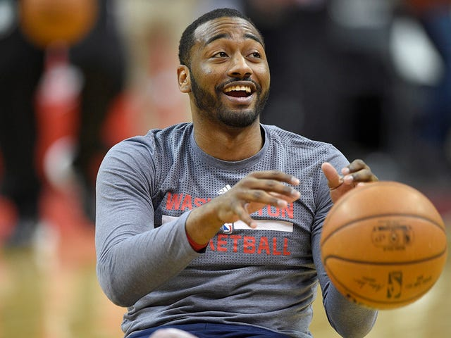 This Photo Of John Wall Will Probably Get More Viewers Than Colin Cowherd's TV Show