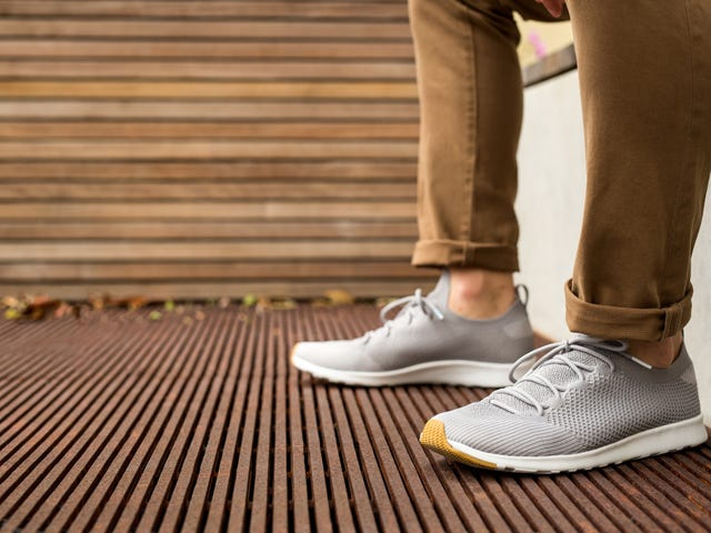 Take 30% Off These Lightweight Sock-Free Sneakers ($64)