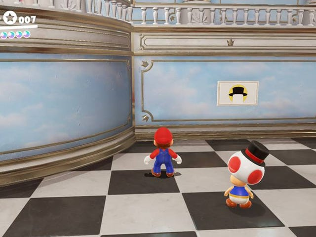 The Joy Of<i> Super Mario Odyssey</i>'s Hint Art Challenges
