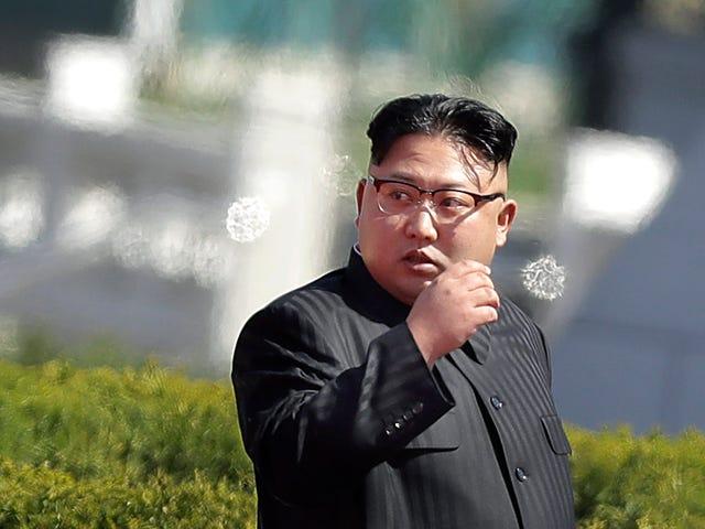 La Corée du Nord a des photoshopeando utilisées dans les journaux de Kim Jong.
