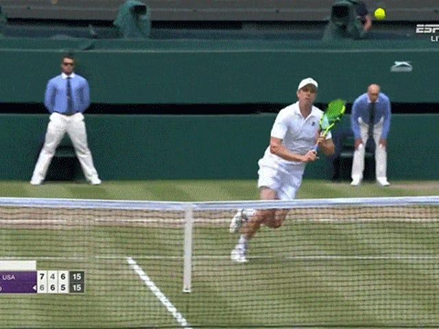 The Stinky Wimbledon Halve finale veranderd in een geurige traktatie
