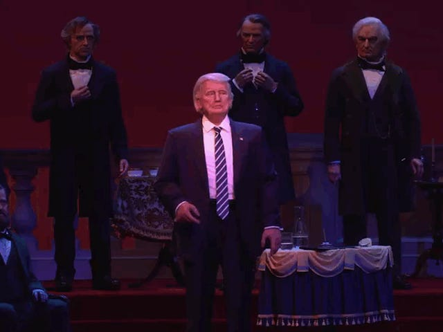 The Disney Version Of Trump Is 100 Times Less Awful Than the Real Thing