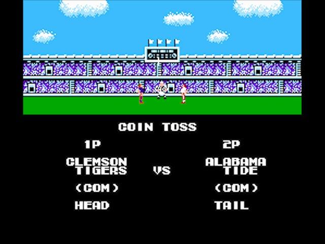 Tu simulación Tecmo Super Bowl juego de campeonato nacional Tecmo Super Bowl está en vivo