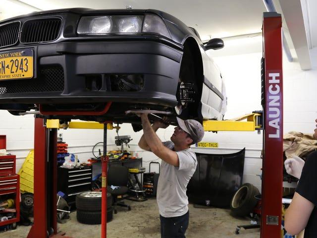 BMW E36 M3 -ralliautoni rakentaminen on itse kilpailu