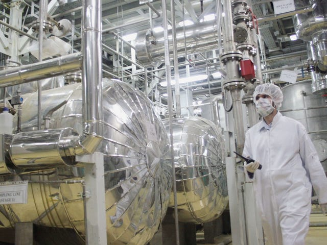 Report: Trace Amounts of Uranium Found by Inspectors at Iranian Site