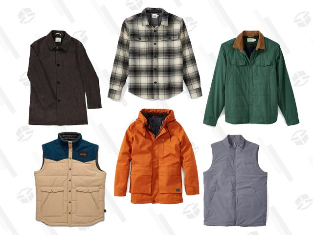 Keep Warm With Discounted Outerwear Thanks to Huckberry