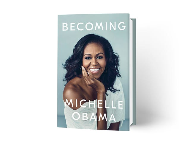 Our Forever First Lady, Michelle Obama, Reveals Stunning Cover for Upcoming Memoir, Becoming
