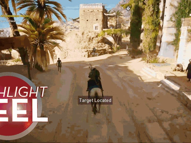 Eight Dudes Just Fall Out Of This Assassin's Creed Horse