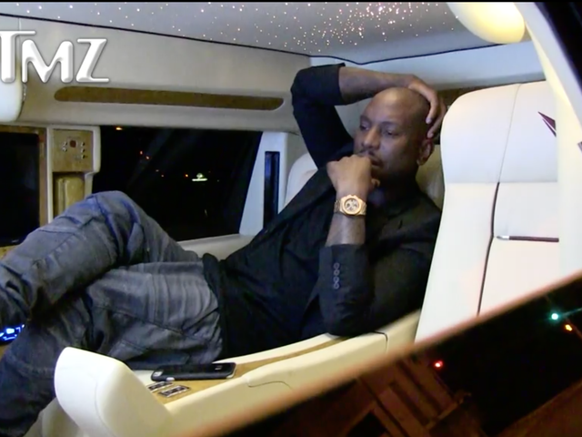 Tyrese Continues His One-Sided Fast & Furious Feud From the Back of a Limo