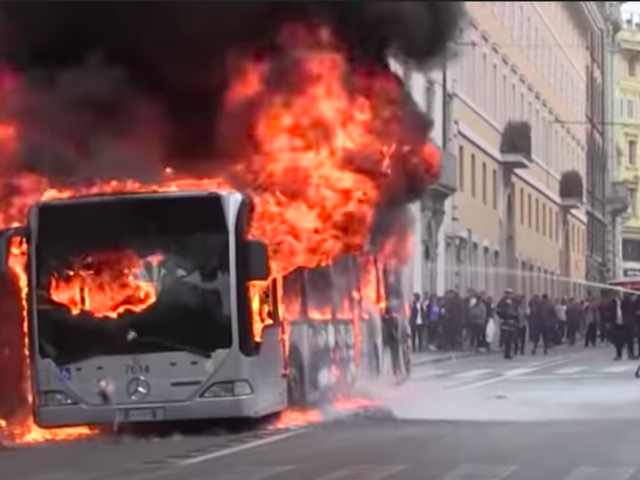 Why Rome's Buses Keep Going Up In Flames
