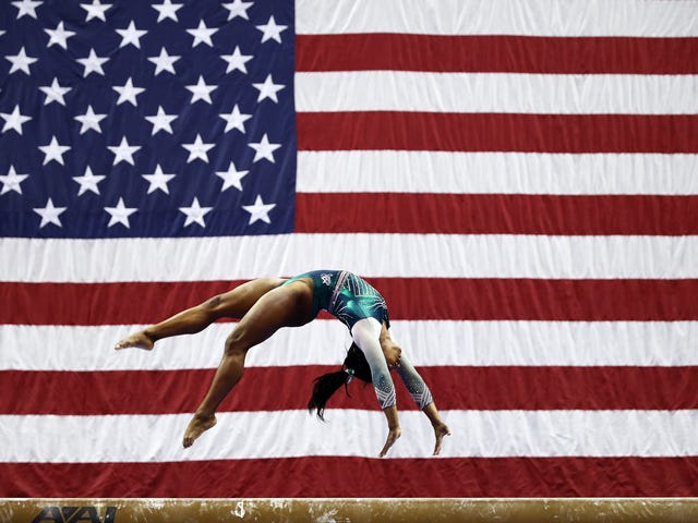 The Number One Stunner: GOAT Simone Biles Becomes 1st Person in History to Land Double-Double Dismount
