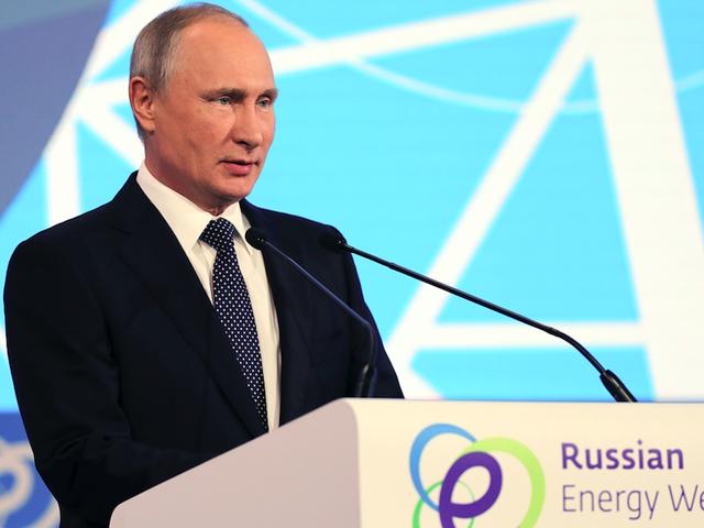 Vladimir Putin ชอบรถยนต์ไฟฟ้า แต่อ้างว่าพวกเขาสกปรกกว่ารถแก๊ส