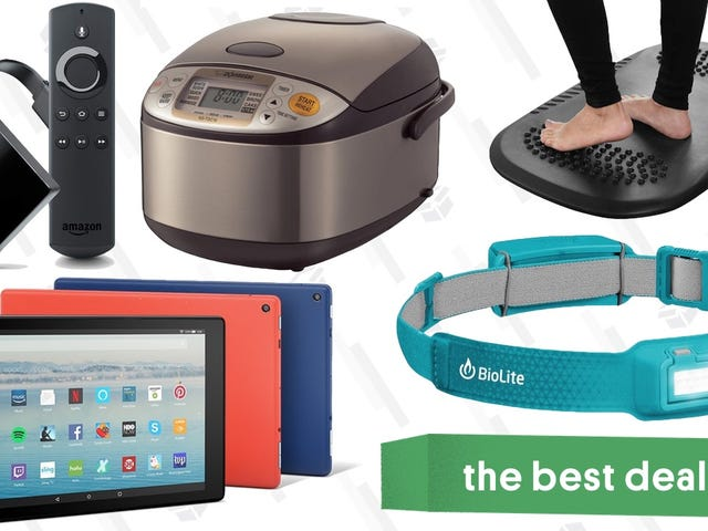 Tuesday's Best Deals: Amazon Gadgets, Rice Cooker, BioLite HeadLamp, and More