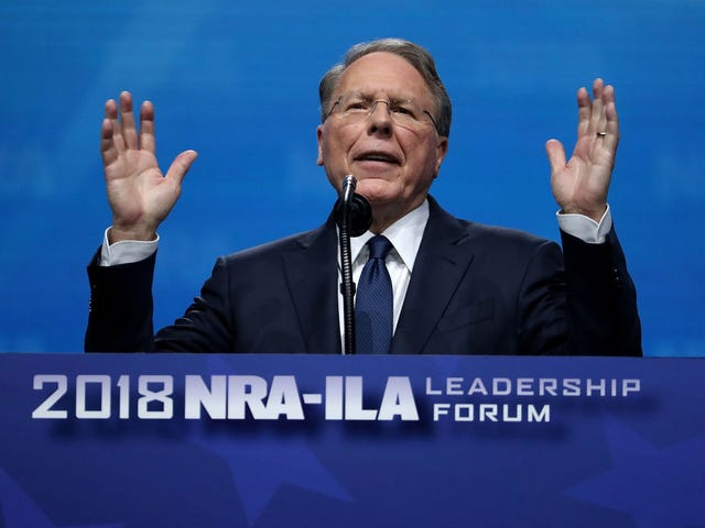 NRA Could 'Be Forced to Shut Down Forever,' Says Executive Vice President