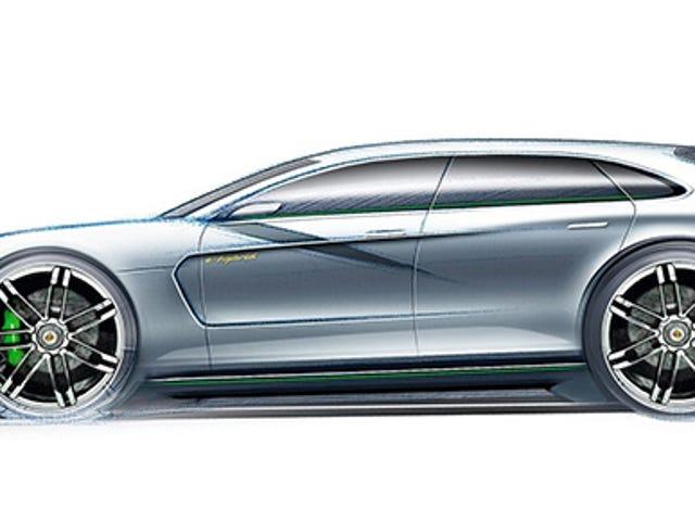 Porsche realmente está planeando sedán eléctrico y de pilas de combustible