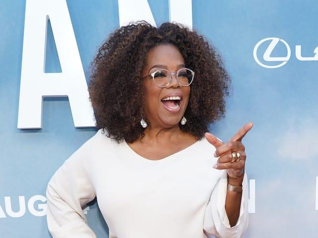 Oprah's Book Club er tilbage, tæver
