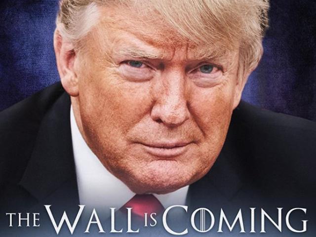 Faktokontroll: Viserion förstörde redan muren, herr president